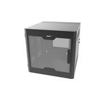 12RU, Swing-Out Wall-Mount Cabinet, Plexi Door