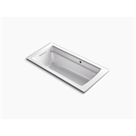 """archer® 66"""" x 32"""" drop-in bath with bask® heated surface and reversible drain"""