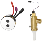 protronic - a3000 open electronic toilet flushing valve aqua505
