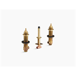 "3/4"" ceramic high-flow valve system"
