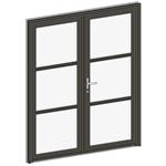 porte d'entrée collection klpe - 2 vantaux égaux