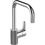 connect kitchen mixer one hole single lever hand, low pressure