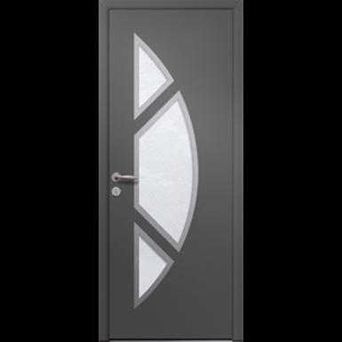 porte d'entrée en aluminium passage – modèle goya 3