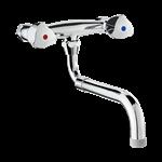 g6679 wall-mounted twin hole mixer