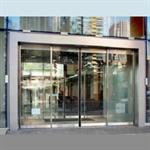 automatic sliding door, fine frame esa400 showcase
