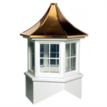 Davenport Series Windowed Cupola Is A Hexagon With A Pagoda Style Roof