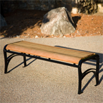 Avondale Wood/Plastic Backless Benches