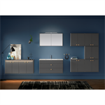 Bathroom Vanity unit Graphic - 100 cm