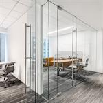 interior glass walls dorma pure® series - pivot - rts closer_r14