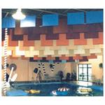 Fiberglass Baffle S.T.O.P.™ - Sailcloth & Vinyl Encapsulated Acoustical Baffles