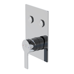 """pushtronic concealed single lever ¾"""" with 2-way diverter 390 2221"""