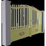 tradition line - conros swinging gate model