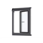 vertical pinewood window element side/bottom-hinged - vfa/b