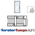 door forster fuego light ei90, single leaf