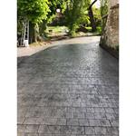 béton imprimé - stamped concrete - chryso®duraprint - pavés napoléon