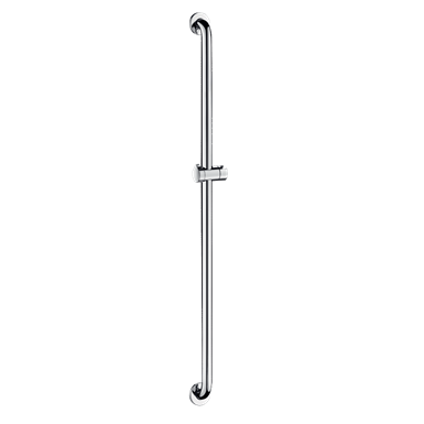 5460p2  shower bar with sliding shower head holder  polished stainless steel