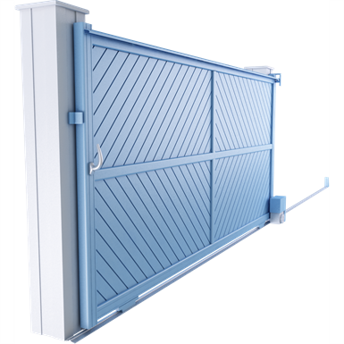 intimité line - syracuse sliding gate model