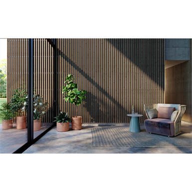linea 3d bamboo wall cladding