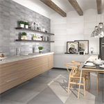 Collection Uptown colour Grey Wall Tiles
