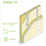 1.2.2 SEPARATION WALLS - Twin frame braced - Split cavity
