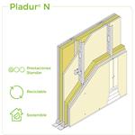 1.2.2 SEPARATION WALLS - Twin frame braced - Split cavity