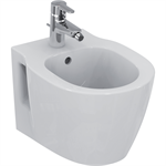 connect space compact wall mounted bidet 360x480mm, 1 taphole