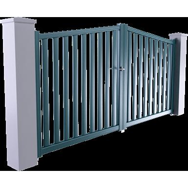 horizon line - seville swinging gate model
