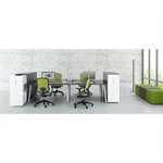 OGI A bench elements for desks pairing
