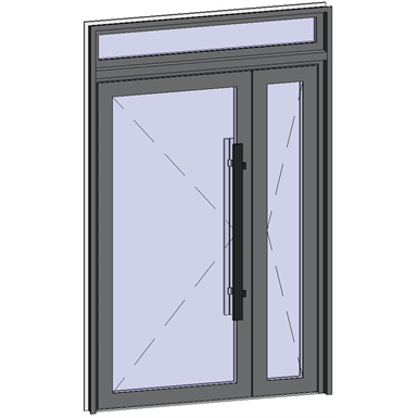 grand trafic doors - double outward opening with transom