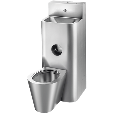 160800  kompact washbasin and floor-standing wc combination