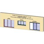 sliding window 2 rails 3 leaves - showcase