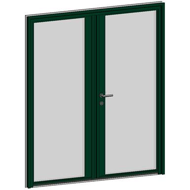 porte d'entrée collection luminescence - 2 vantaux égaux