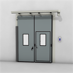 ASSA ABLOY FD2250P Folding Door (2+0) Electrical DLW 1400-2500mm, DLH 2000-6000mm