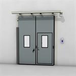 ASSA ABLOY FD2250P Folding Door (2+0) Electrical DLW 1400-2500mm, DLH 2000-6000mm