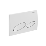 Geberit Kappa20 flush plate for dual flush