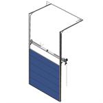 sectional overhead door 601 - pre-assembled high lift - 40mm panels
