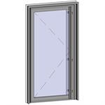 grand trafic doors - anti finger pinch version - single outward opening