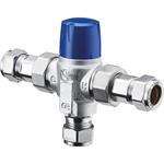 OKYRIS 2 CLINIC - Premixer thermostatique 2 à 7 robinetteries