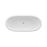 ILBAGNOALESSI ONE Bathtub, fitted version, without panel, 1780 x 820 mm