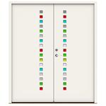 Exterior Door Character Prisma Double (Inswing)