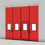 ASSA ABLOY FD2250P Folding Door (2+2) Manual DLW 2530-5000mm, DLH 1850-6000mm