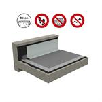 systèmes pour toiture innaccessibles autoprotégée sur support béton
