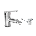 ARLAN Single lever bidet mixer with automatic waste