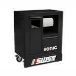 """SWS 32"""" recycle cabinet black"""