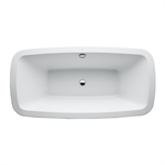 PALOMBA COLLECTION Bathtub, drop-in version, without frame, 1800 x 900 mm