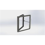 Generic Side Hung Window with SECO Ni 24 40