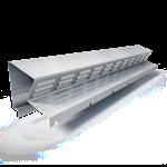 bandeau de faîtage ventilé  bfv2  hauteur 45