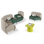 hawaï – modular sofa (curved module)