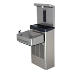 Model 1211SF, Wall Mount ADA Filtered Water Cooler with Bottle Filler