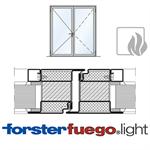 door forster fuego light ei90, double leaf